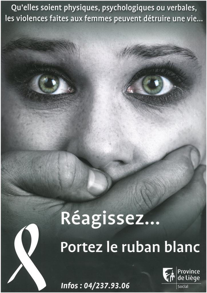 la campagne ruban blanc contre les violences faites aux femmes 7e dition wamabi. Black Bedroom Furniture Sets. Home Design Ideas