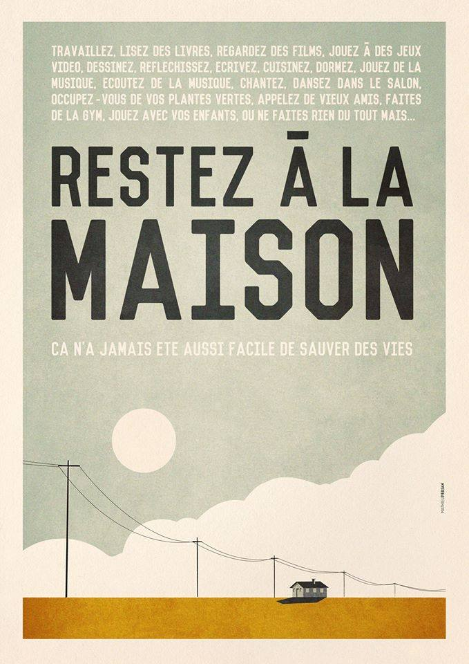 Affiche réalisée par l'illustrateur Mathieu Persan